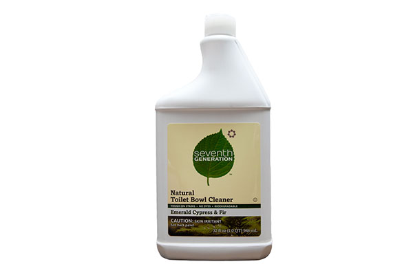 Green Behavior: Seventh Generation Natural Toilet Bowl Cleaner, Emerald Cypress & Fir
