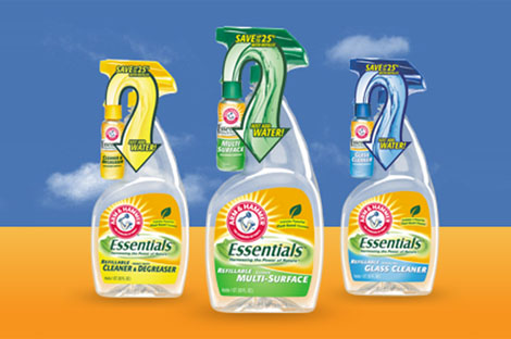 Green Behavior: Arm & Hammer Essentials - Green Cleaning