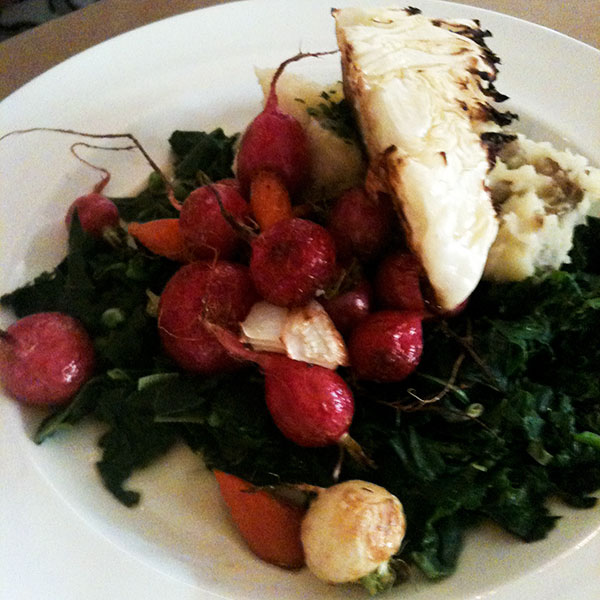 Serenbe Farm Vegetable Plate